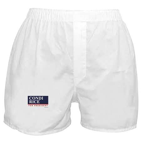 Condi RIce for President Boxer Shorts