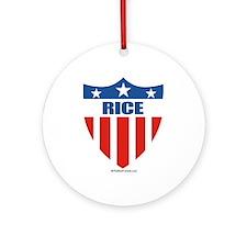 Rice Ornament (Round)
