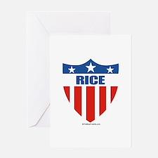 Rice Greeting Card