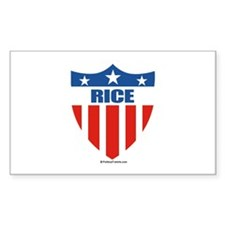 Rice Rectangle Decal