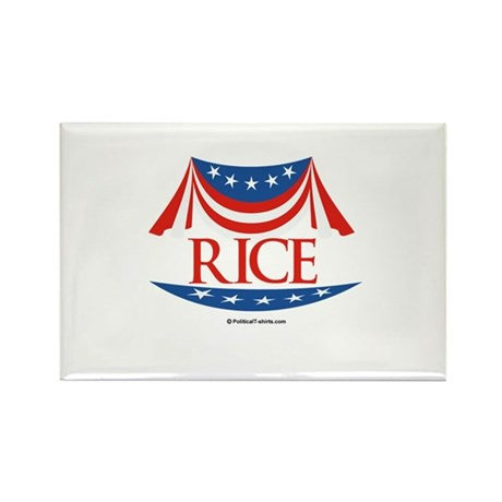 Rice Rectangle Magnet