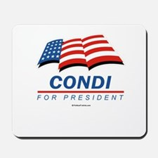 Condi for President Mousepad