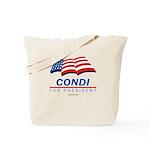 Condi for President Tote Bag