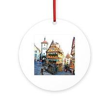 Rothenburg20150903 Round Ornament