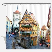 Rothenburg20150903 Shower Curtain