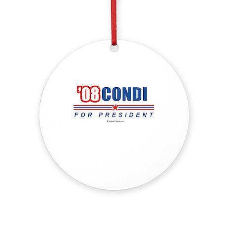 Condi 08 Ornament (Round)