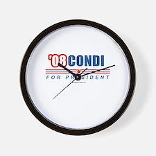 Condi 08 Wall Clock