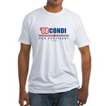 Condi 08 Fitted T-Shirt