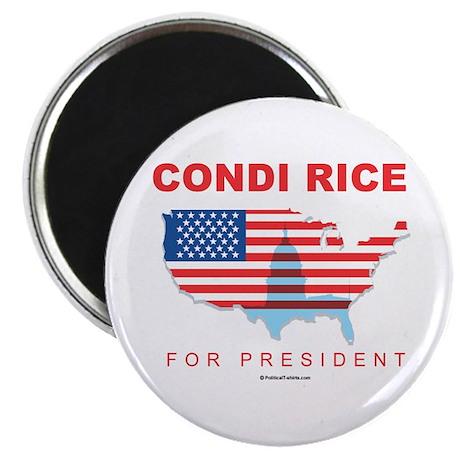 """Condi Rice for President 2.25"""" Magnet (100 pack)"""