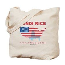Condi Rice for President Tote Bag