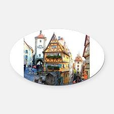 Rothenburg20150903 Oval Car Magnet