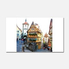 Rothenburg20150903 Car Magnet 20 x 12
