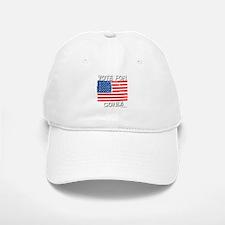 Vote for Condi Baseball Baseball Cap