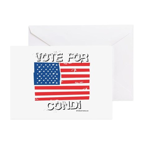 Vote for Condi Greeting Cards (Pk of 10)