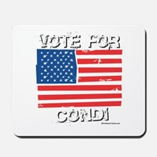 Vote for Condi Mousepad