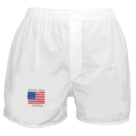 Vote for Condi Boxer Shorts