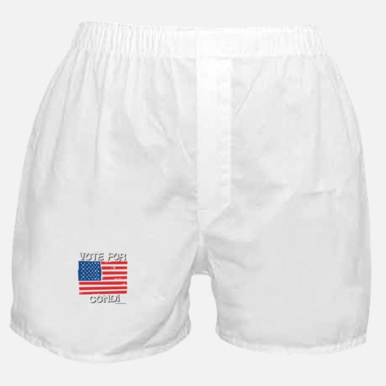 Vote for Condi Boxer Shorts