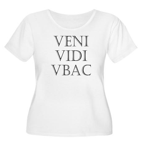 VBAC Women's Plus Size Scoop Neck T-Shirt