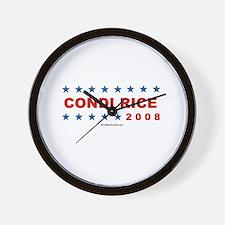 Condi Rice 2008 Wall Clock