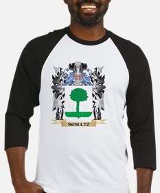 Schultz Coat of Arms - Family Cres Baseball Jersey