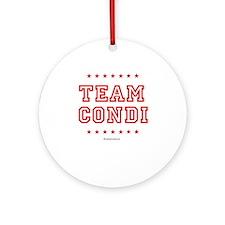 Team Condi Ornament (Round)
