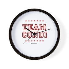 Team Condi Wall Clock