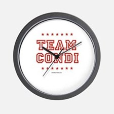 Team Condi Wall Clock