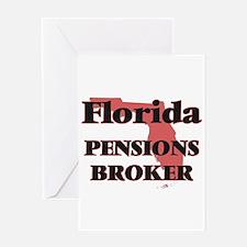 Florida Pensions Broker Greeting Cards