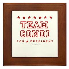 Team Condi Framed Tile