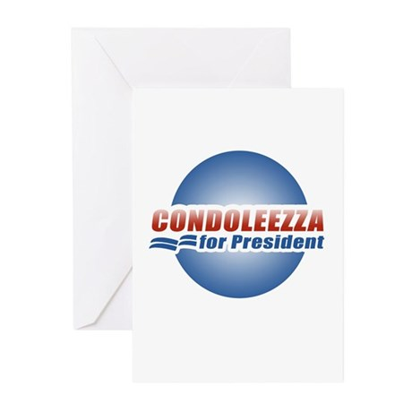 Condoleezza for President Greeting Cards (Pk of 20