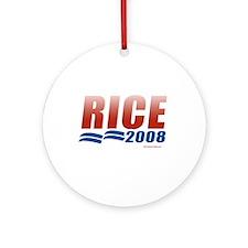 Rice 2008 Ornament (Round)