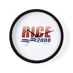 Rice 2008 Wall Clock