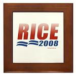 Rice 2008 Framed Tile
