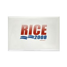 Rice 2008 Rectangle Magnet