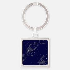 stars scorpio Square Keychain