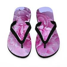 peony flower Flip Flops