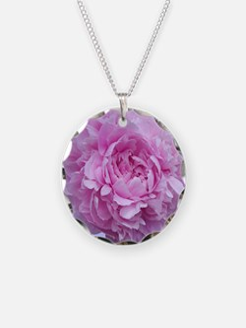 peony flower Necklace