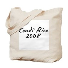 Condi Rice Autograph Tote Bag