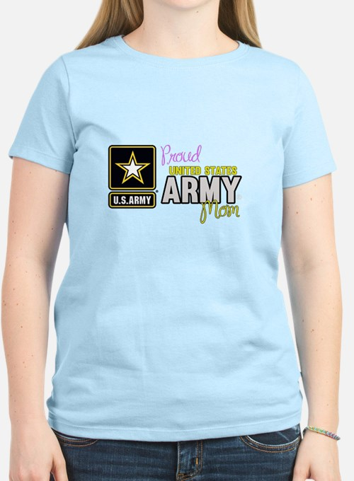 Proud US Army Mom T-Shirt