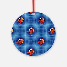 scorpio horoscope Round Ornament