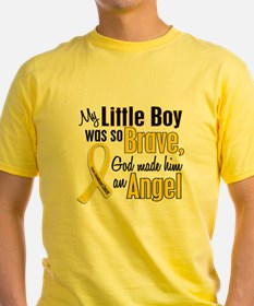 Funny Child support childhood cancer awareness pediatric T