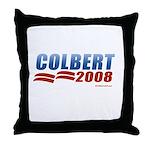 Stephen Colbert 2008 Throw Pillow