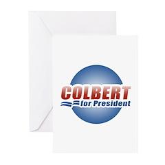 Colbert for President Greeting Cards (Pk of 10)