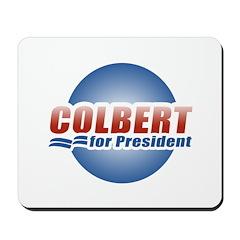 Colbert for President Mousepad