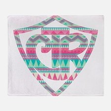 Cute Lds missionary mom Throw Blanket