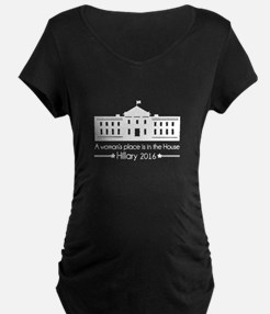 A woman's place in the House - Hillary 2016 Matern