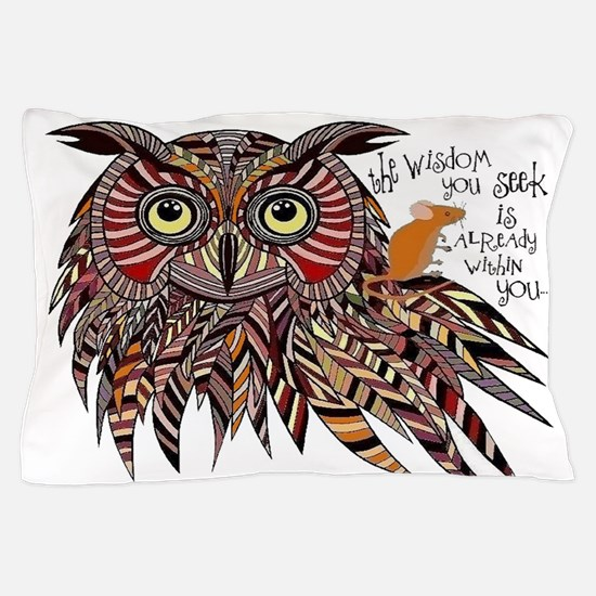Wisdom Pillow Case