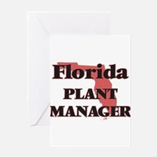Florida Plant Manager Greeting Cards