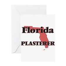 Florida Plasterer Greeting Cards