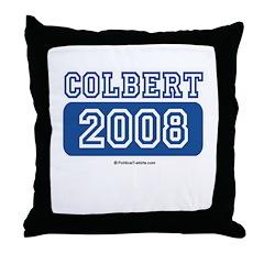 Colbert 2008 Throw Pillow